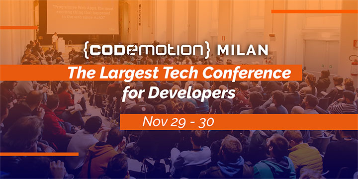 Codemotion Milan 2018