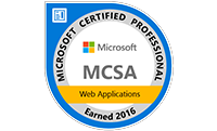 Microsoft Certified Solutions Associate: Web Applications